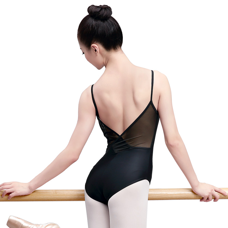 Quality Adult Women/'s Mulitiple Colors Black Blue Ballet Dance Leotard Camisole