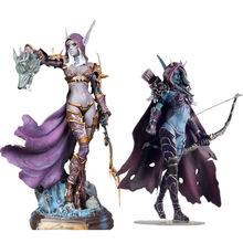 Sylvanas Windrunner Gambar Sylvan Ratu Memanah PVC Anime Action Figure Collectible Model World Of Warcraft WOW DotA(China)