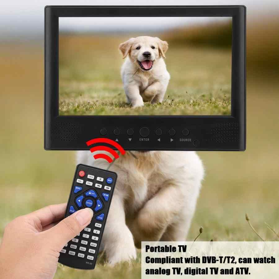 LEADSTAR 9 Cal telewizja telewizyjna 800x480 kolorowy TFT-LED DVB-T/T2 przedni głośnik telewizja cyfrowa telewizja przenośny telewizor samochodowy led televizyon