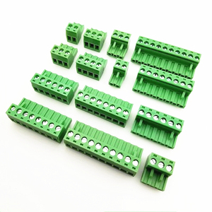 Aerial butt welding type MG2EDGK-5.08mm PCB plug-in type 2edg type green terminal block 2EDGRK for Connector row