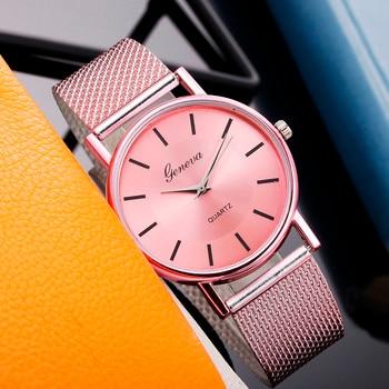 Watch For Women Stylish Relogio Quartz Watch Woman's High-end Blue Glass Life Waterproof Distinguished Relogio Feminino Reloj 1