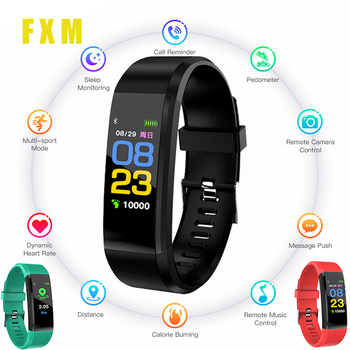 Children's Sports Watch LED Display Touch Color Screen Top Electronic Watch Waterproof Heart Rate Pedometer For Boy Girl Watches