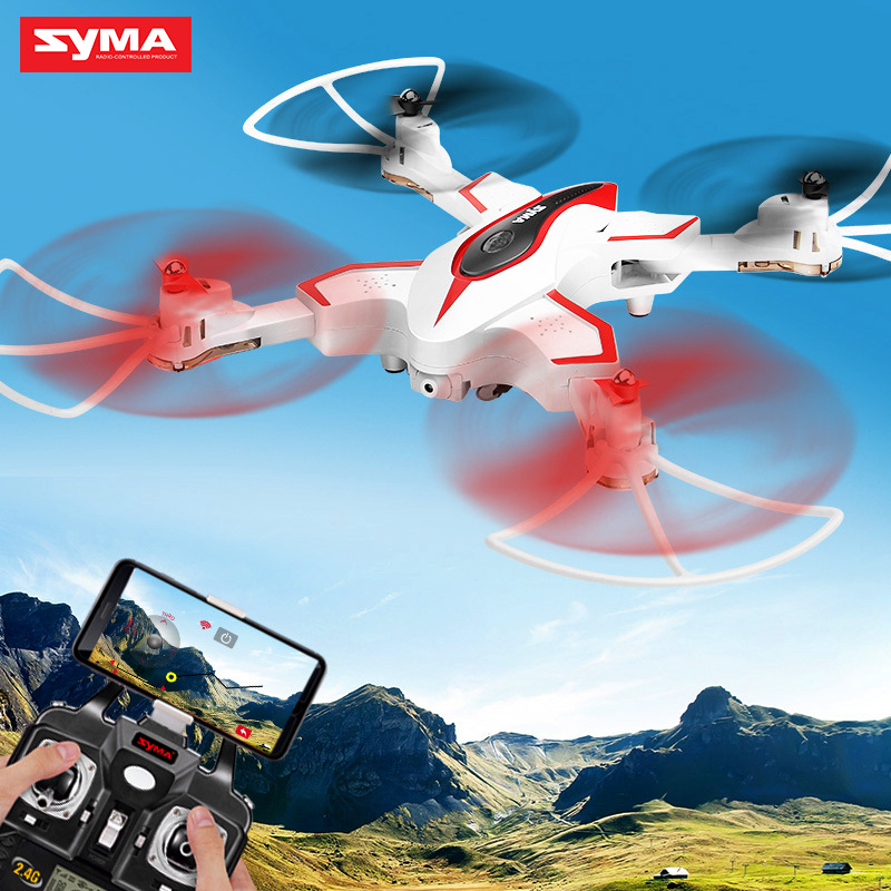 SYMA Sima X56w Folding Unmanned Aerial Vehicle Aircraft For Areal Photography Children Toy Remote Control Airplane