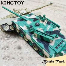 Rc tanque toy rc tank с дистанционным управлением стрельбы большая