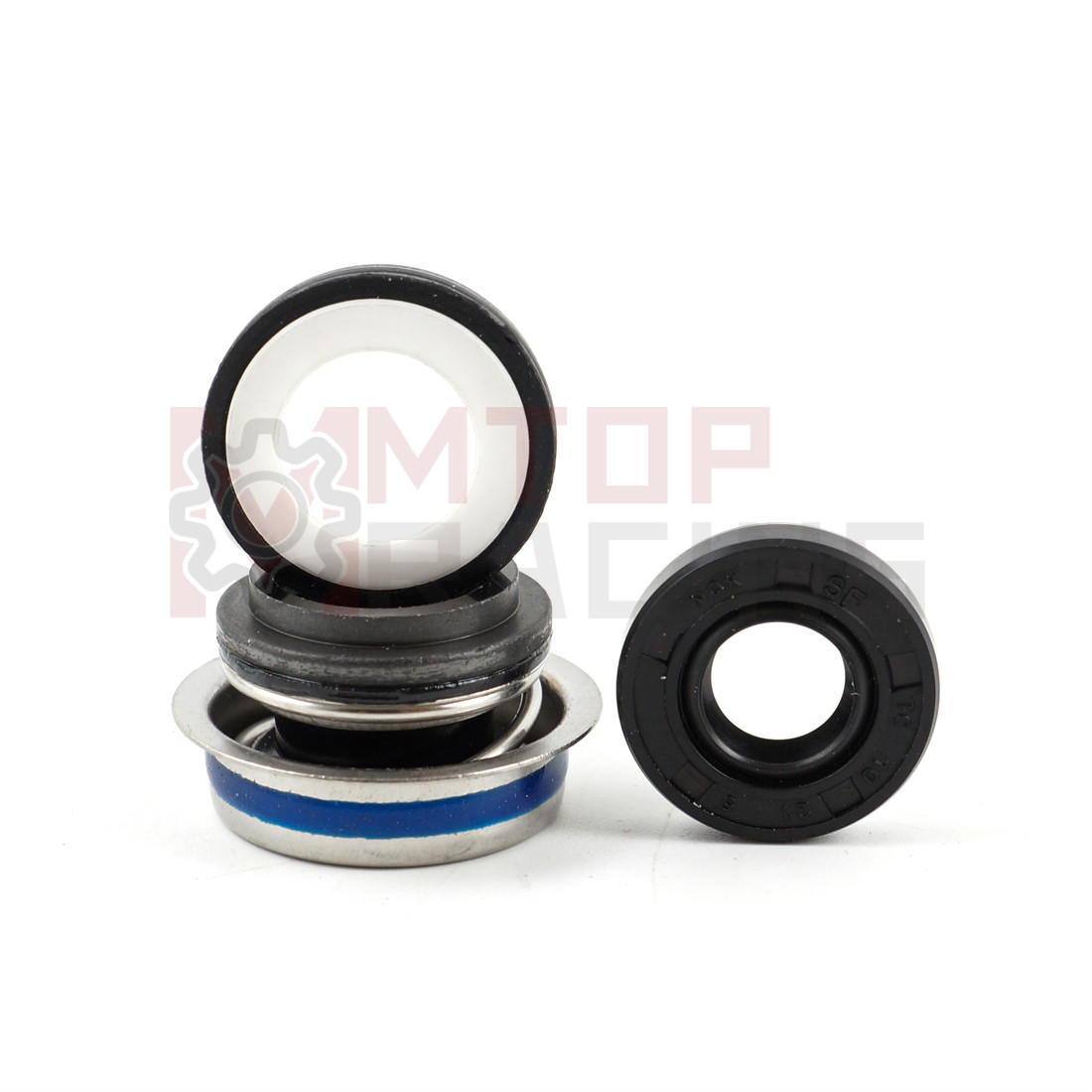 Water Pump Mechanical Seal Set For <font><b>Suzuki</b></font> DL1000 V-Strom 2002-2016 <font><b>2003</b></font> 04 05 06 07 08 09 2010 <font><b>SV1000</b></font> (<font><b>2003</b></font> 2004 2005 2006 <font><b>2007</b></font>) image