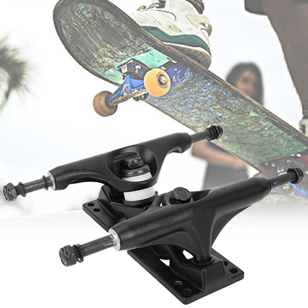 4-8 Inch Aluminum Magnesium Alloy Professional Bridge Skate Board Bracke Black Thickening Bracket