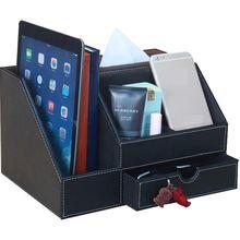 Многофункциональный кожаный тканевый ящик модная Столовая салфетка