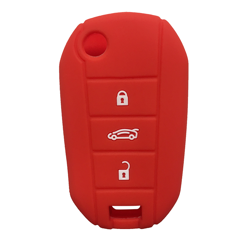 Key Case For Citroen C-Elysee C3-XR 190THP 2019 2018  Key Cover For Peugeot 301 508 408 2008 3008 Car Key Cover Case For Keys