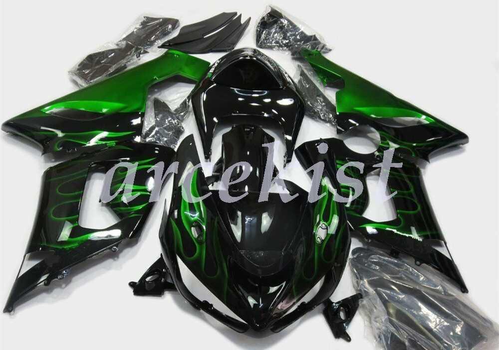 OEM Качество Литья Под Давлением Мотоцикл Новые ABS Обтекатели наборы подходят для kawasaki Ninja zxzx6r 636 2005 2006 6r 05 06 west