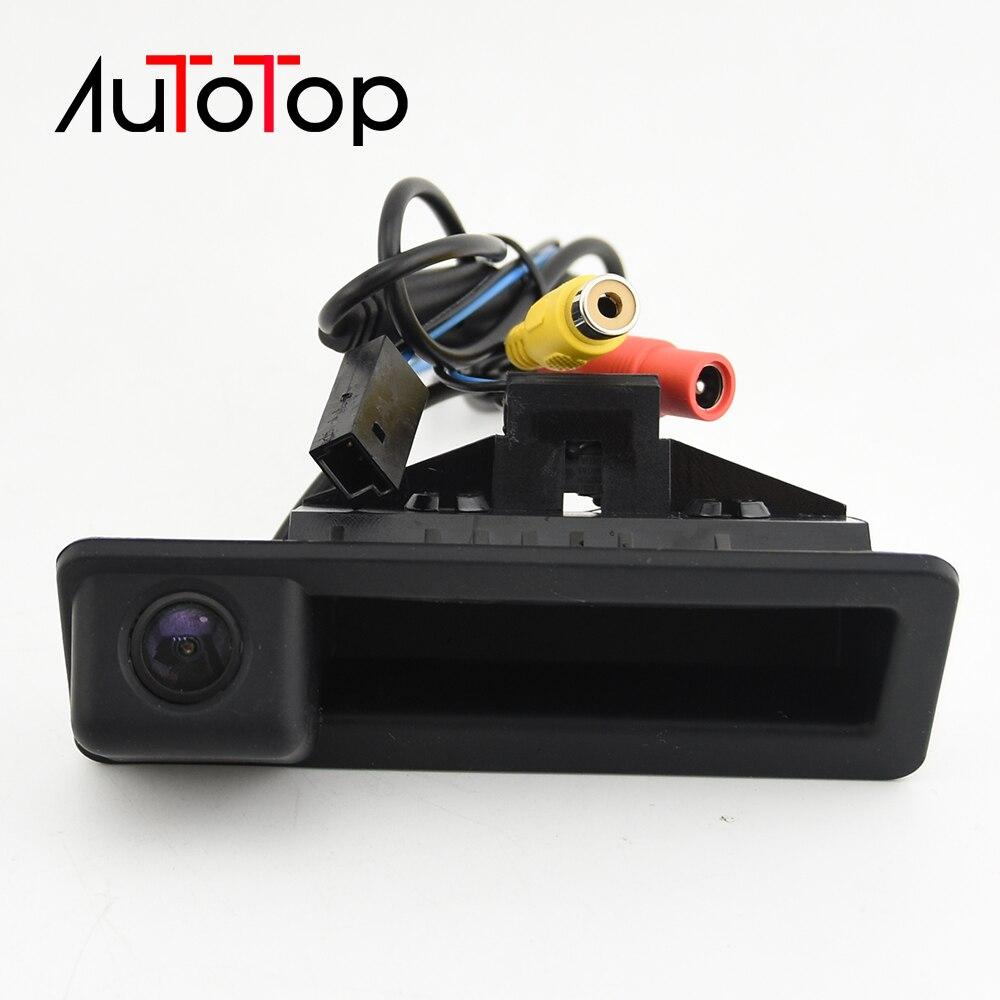 Câmera de ré automotiva para carro, câmera traseira de ré para bmw e60 e61 e70 e71 e72 e82 e88 e84 e90 e91 e92 e93