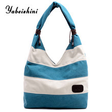 New canvas Tote women bag over shoulder for 2019 hand bags sac main bolso mujer crossbody Shopping Bag