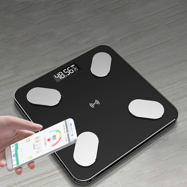 Bluetooth Body Fat Scale BMI Scale Smart Electronic ​Scales LED Digital Bathroom Weight Scale Balance Body Composition Analyzer 3