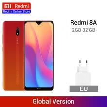 Xiaomi Redmi 8A 8 A с глобальной версией, 2 Гб, 32 ГБ, 6,22 дюйма, Восьмиядерный мобильный телефон Snapdargon 439, 5000 мАч, смартфон с камерой 12 МП
