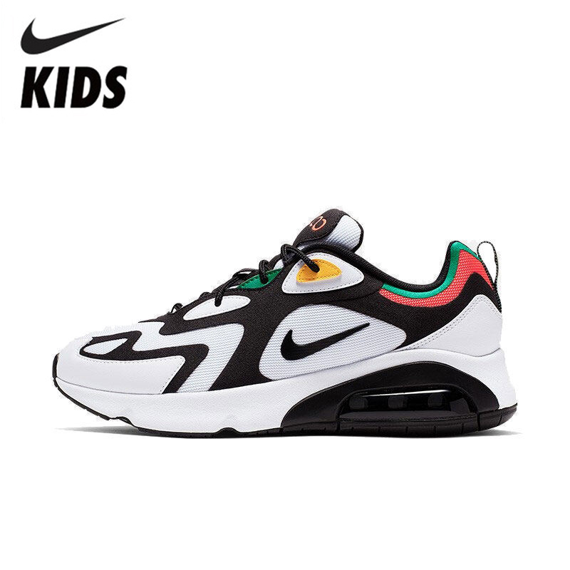 NIKE AIR MAX 200 (PS) Original Kids Shoes New Arrival Children Sports Running Shoes Comfortable Sneakers #AQ2568