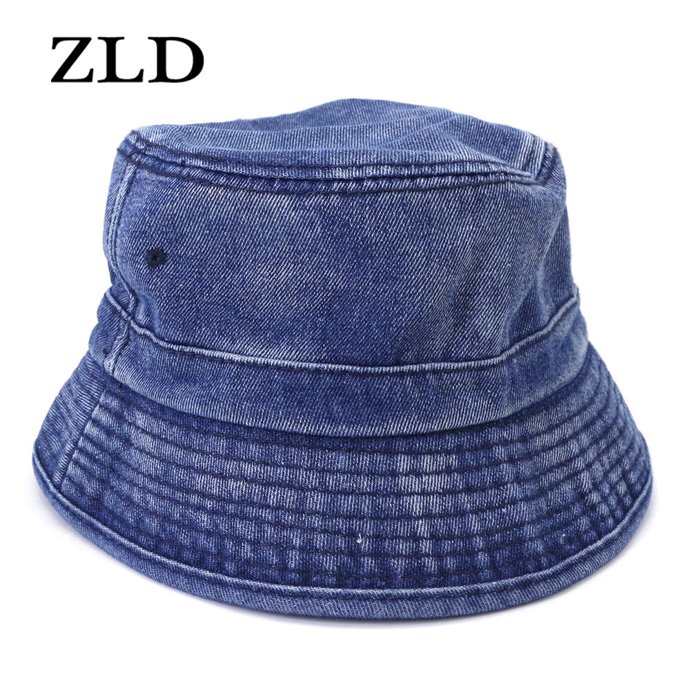 ZLD Foldable sun-proof cowboy hat Outdoor outing sun-shading fisherman hat mens hat cowgirl hats Hip-hop cap Casual hat for man