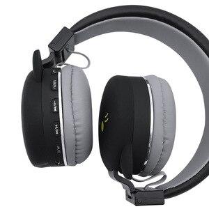 Image 4 - Drahtlose Bluetooth Nette Katze Ohr Kopfhörer Für Kinder Mädchen Faltbare Stereo Kopf Montiert Headset Mit Mikrofon Unterstützung NFC FM