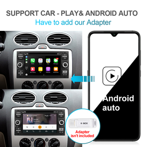 Image 5 - Isudar PX6 2 Din Android 10 GPS Autoradio 7 Inch For Ford/Mondeo/Focus/Transit/C MAX/S MAX/Fiesta Car Multimedia Player 4GB RAM