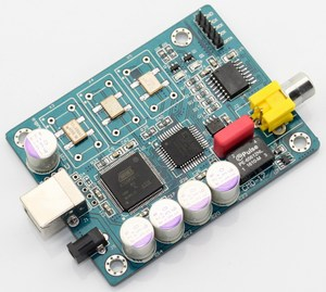 Image 3 - Italy Amanero usb iis digital interface + WM8805 coaxial output I2S output