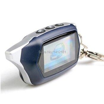 Russian Two Way C9 LCD Remote Key keychain for 2-way starline C9 C6 KGB EX-8 EX8 lcd Remote Control two way car alarm system