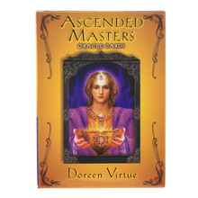44 Pcs Oracle Tarot ascended master Oracle Cards Board Deck Games Palying Cards For Party Game