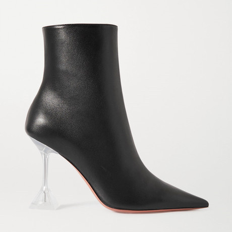 Clear heeld black