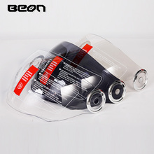 BEON B-108A open face helmet visor shield suitable for beon 110b motorcycle