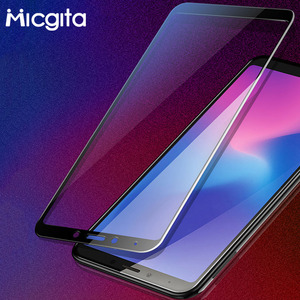 Image 1 - Gehärtetem Glas Für Samsung Galaxy A8 A6 Plus J6 J8 A7 2018 A750 Screen Protector Glas Für Samsung A6 A8 + J4 Plus J2 Core Film
