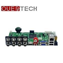 OUERTECH AHD CVI TVI IP CVBS 5 in 1 8CH CCTV DVR Board 1080N/1080P/5MP 1 SATA ONVIF Surveillance Video Recorde Motherboard