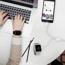 Кабель для apple watch зарядное устройство 3 в 1 usb qi Беспроводная