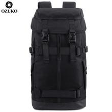 OZUKO New Large Capacity Men Backpack European and American style Multifunction Male Out Door Travel Bag Waterproof Mochila 2019