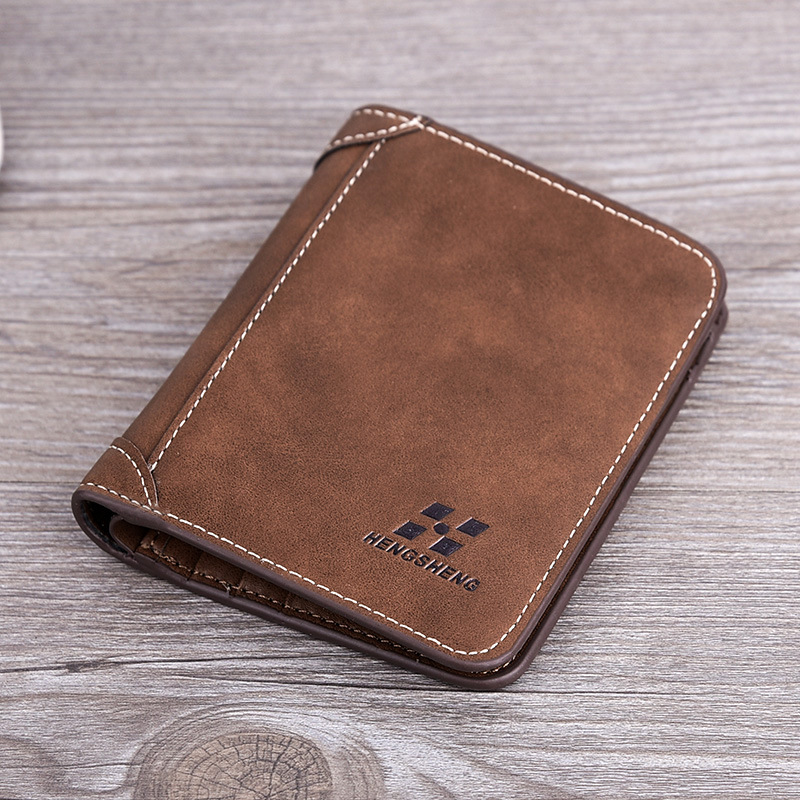 Fashion 2020 Men Wallets Mens Wallet With Coin Bag Zipper Small Money Purses New Design Dollar Slim Purse Money Clip Wallet