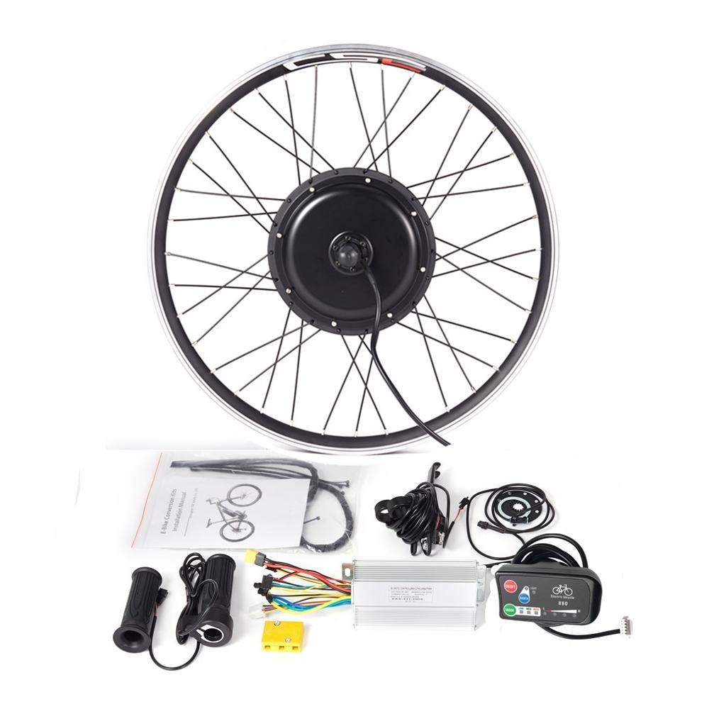 "ebike motor wheel 36V 500W Conversion Kit LED880 Display for 20-29/"" bicycle bike"