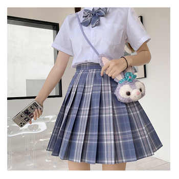 Japanese School Uniforms Purple Skirts Girl\'s Dresses JK Suits Bowknot Shirt Female Sailor Costumes Dress Clothes for Women