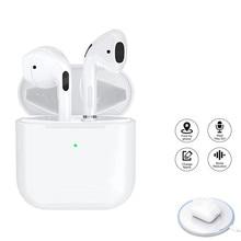 Ar pro 4 tws sem fio bluetooth fones de ouvido hi-fi jogos fones de ouvido estéreo mini fones de ouvido hands-free fone de ouvido para smartphone