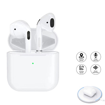 цены Air pro 4 TWS Wireless Bluetooth Earphones Hi-Fi Gaming Headphones In-ear Stereo Mini Earbuds Hands-free Headset For SmartPhone