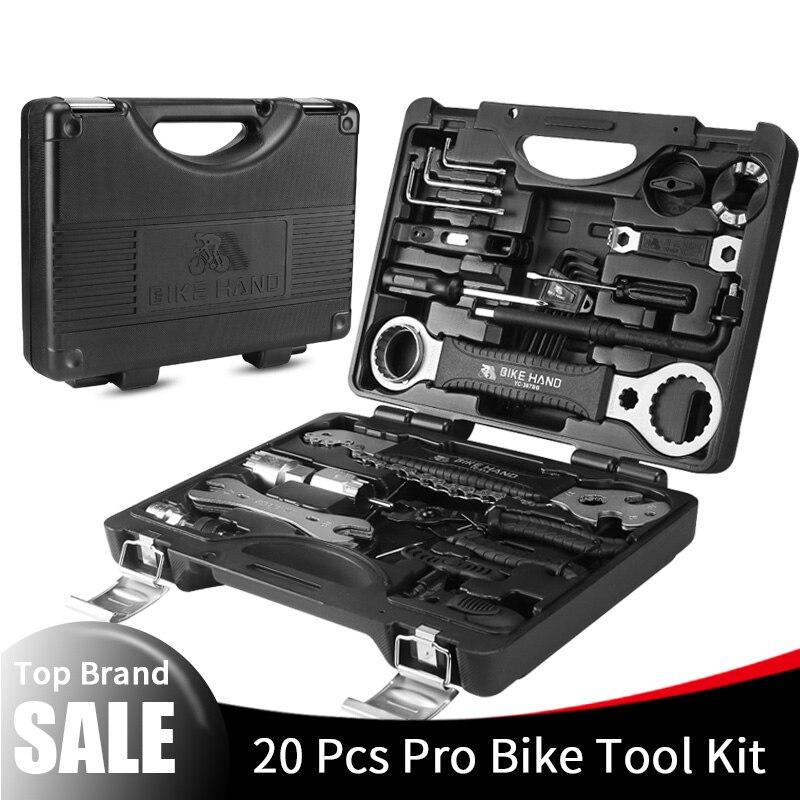 ELOS Bike Hand 18 в 1, набор инструментов для ремонта велосипеда, набор инструментов для ремонта велосипедной цепи Mtb, набор гаечных ключей с шестигр... - 2
