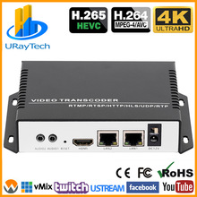 RTSP M3U8 RTMP UDP Ip-Video Streaming-Transcoder H.264 HEVC 4K for HTTP HLS M3u8/Url/To/..