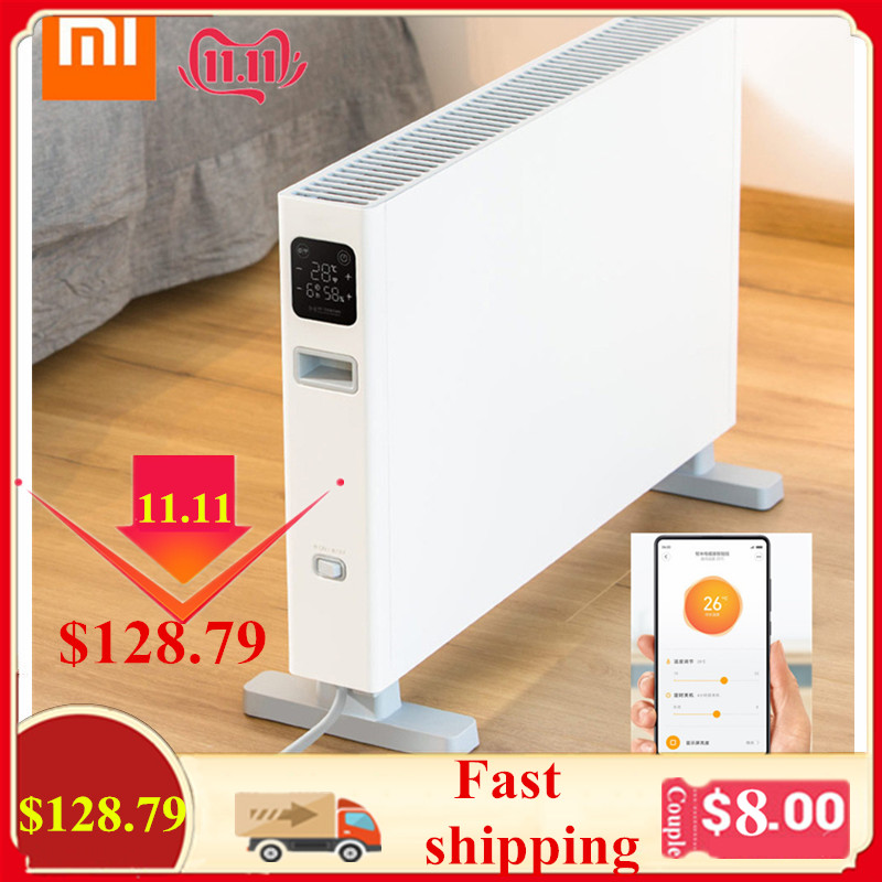 Xiaomi Smartmi Electric Heater Convection Heating Energizing Heating Non-Inductive Mute Dual Security Protection Remote Control