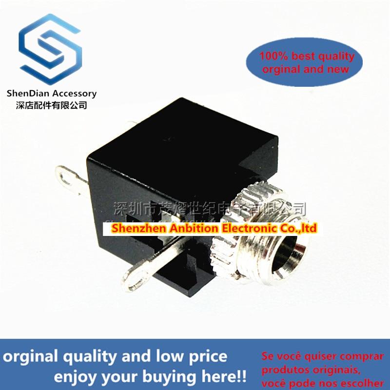 200pcss 100% New And Orginal PJ301M 3.5mm Audio Jack PJ-301M 2-channel Vertical