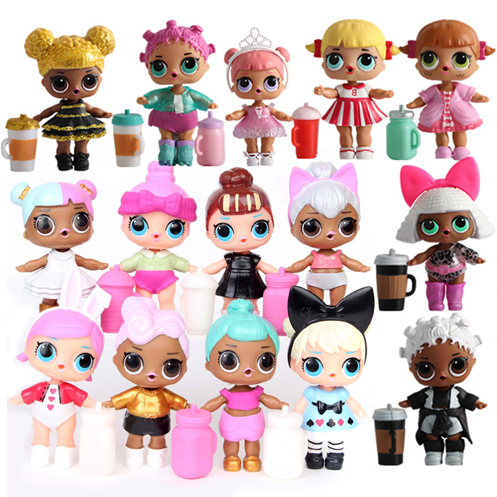 original LOLS dolls DIY  toys Figure MGA doll With clothes and shoes milk bottle Lols  sister For Girls birthday Christmas gifts