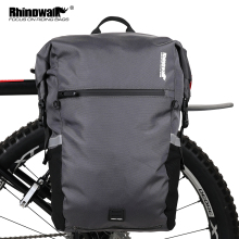 Pannier-Bag Backpack Rear-Seat-Bag Bike Bicycle Multifunctional Waterproof Rhinowalk