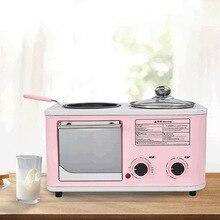 Мини-многофункциональная машина для завтрака, бытовая машина для приготовления завтрака три в одном, яичная печь, BLY-ZA02