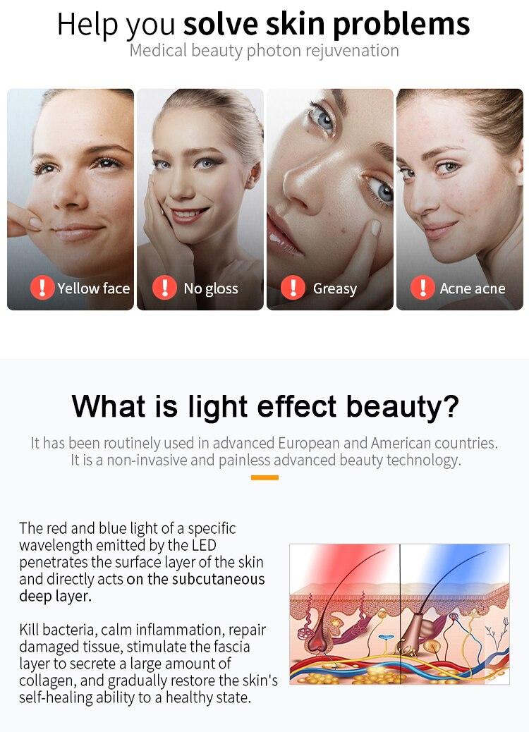 2021 melhor terapia de luz profissional fóton