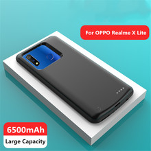2019 Battery Charger Cases For OPPO Realme X Lite Power Case 6500mAh Power Bank Charging Case External Battery case(China)
