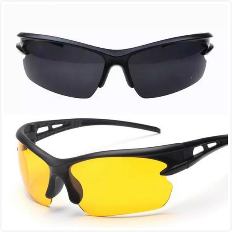 Очки ночного видения унисекс, солнцезащитные очки высокого разрешения для вождения автомобиля, поляризационные Взрывозащищенные солнцеза...