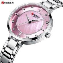 CURREN Ladies Watch Top Luxury Brand Bracelet Waterproof Female Clock Relogio Feminino Montre Femme 2019