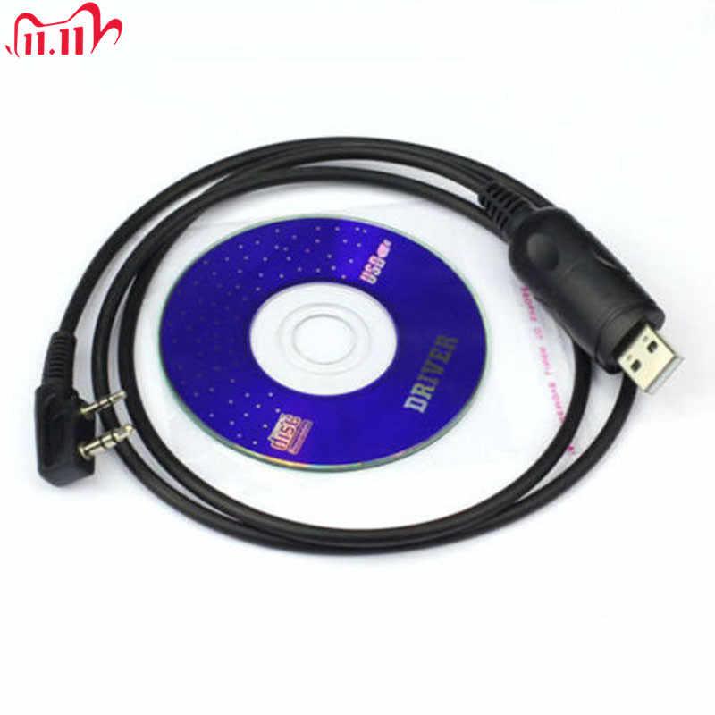 Câble de programmation USB, pour Baofeng 666S 777S 888S Radio avec logiciel de programme CD walkie-talkie accessoires GT
