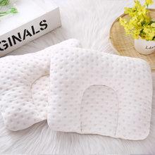 Almohada de sueño de bebé recién nacido, cojín de algodón antireflujo, almohadilla moldeadora, cuna de leche, cuna, cuna para dormir