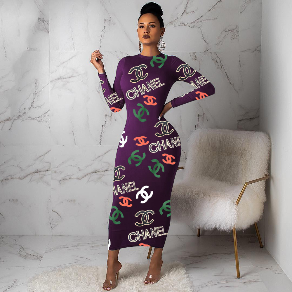 African dresses for women Sexy fashion print dress