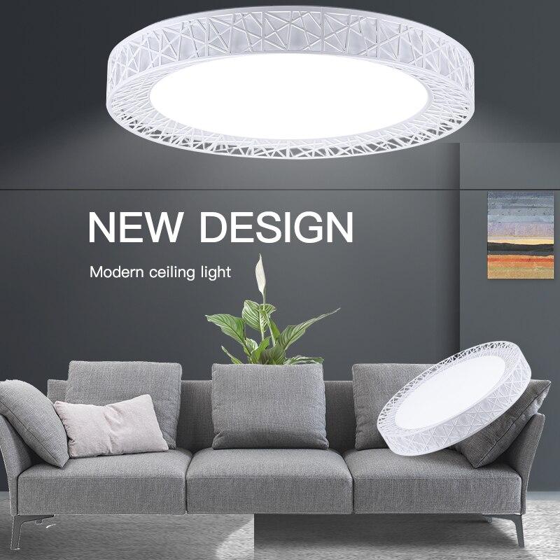 天井照明 Led シーリングライト表面実装ランプ 220V 16 ワット 30 ワット 50 ワット 70 ワット変更可能パネルランプのための家庭の台所の照明